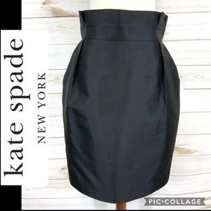 Kate Spade Skirt the Rules structured skirt sz 8